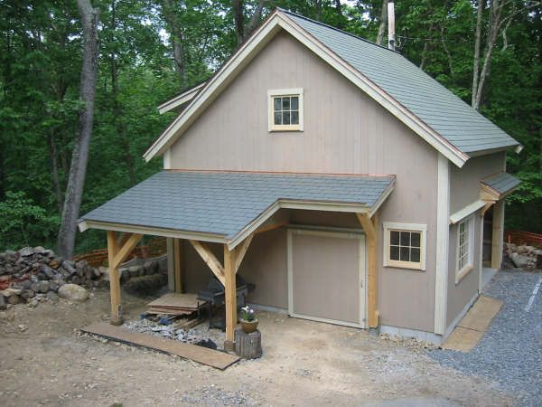 Detached Garage Man Cave Ideas : Our 1 2 story barn 24'x 36' attached to carriage house 22'x 36