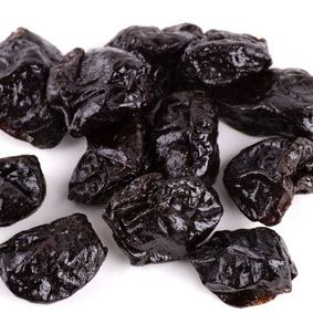 Just 10 prunes a day has been proven to reverse osteoporosis in postmenopausal women not on HRT or any prescribed medication to treat osteoporosis.