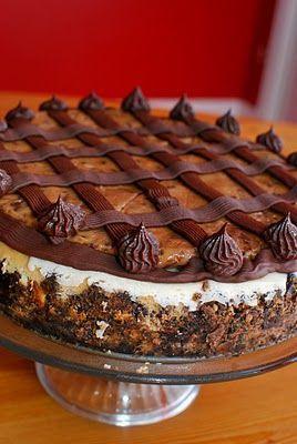 Cookie Dough Fudge Cheesecake