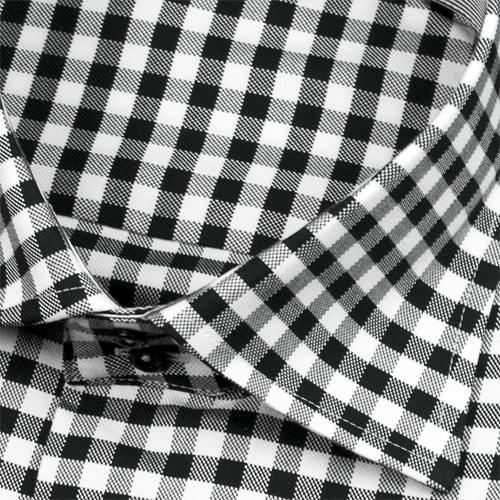 K262 - Black Gingham Japan Pure cotton two ply dress shirts 2-Button Cut Away collar http://www.moderntailor.com/showcase/html/361402.htmlDress Shirts, Shirts 2Button, Dresses Shirts, Shirts 2 Buttons, Collars Shirts