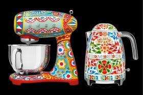 Smeg has once again teamed up with Dolce and Gabbana to produce a second collection, called 'Sicily My Love'