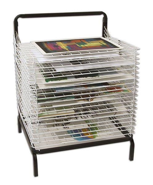 Stack-N-Dry Floor Drying Rack - JerrysArtarama.com