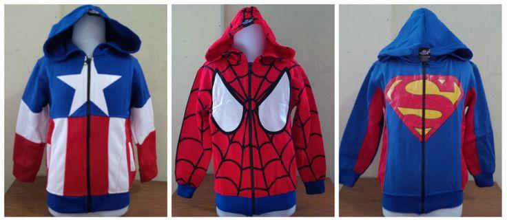 - http://keikidscorner.com/baju-anak-laki-laki/jaket-baju-anak-laki-laki/jaket-anak-laki-laki-superhero-captain-amerika-spiderman-superman-umur-2-6-tahun.html