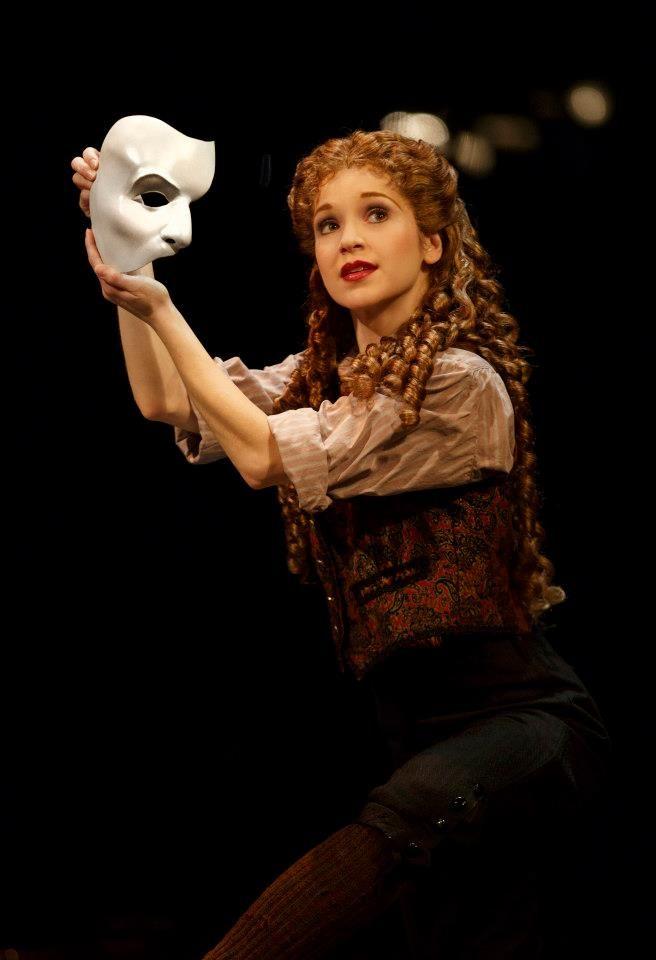 Meg finds the Phantom's mask.