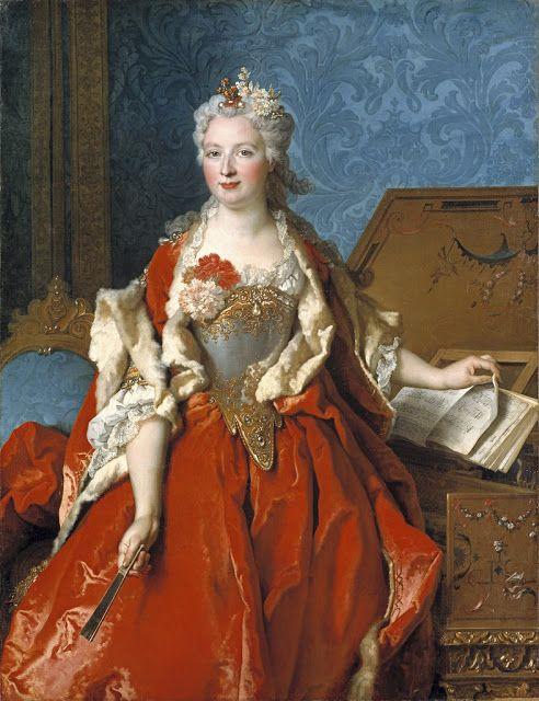 Marguerite de Sève by Largilliere,1729