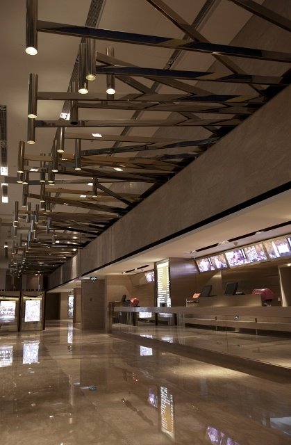 Beijing Palace Cinema in China World Trade Center   Project Location: Beijing, China   Firm: One Plus Partnership Limited, Hong Kong   Category: Municipal/Public Spaces   Award: Global Excellence Awards Honorable Mention Winner