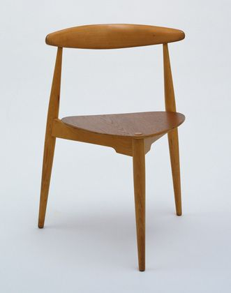 Hans Wegner (Danish, 1914–2007) Stacking Side Chair  Manufacturer:     Fritz Hansen Date:     1952