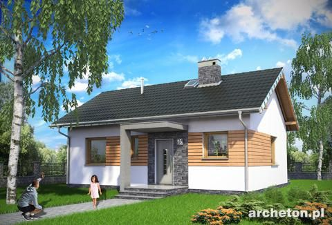 Projekt domu Nugat