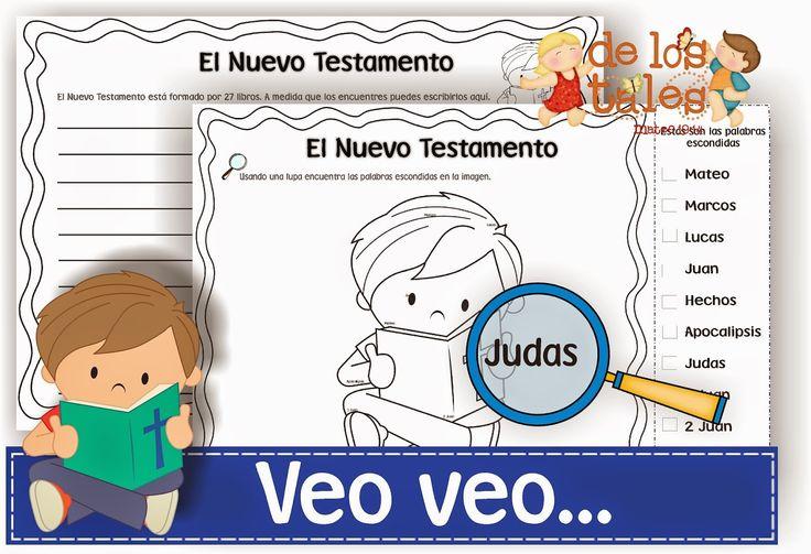 Veo veo...libros del Nuevo Testamento