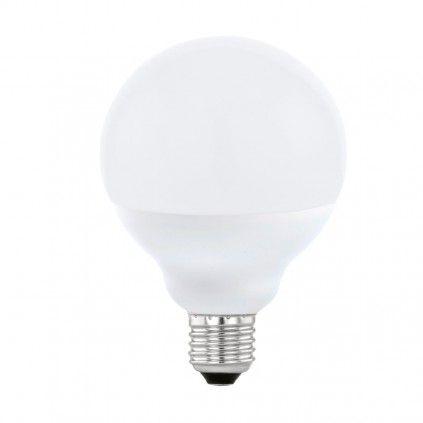 EGLO Connect E27 LED Leuchtmittel 13W 1300lm 2700-6500K, RGB G95 RGB Bluetooth
