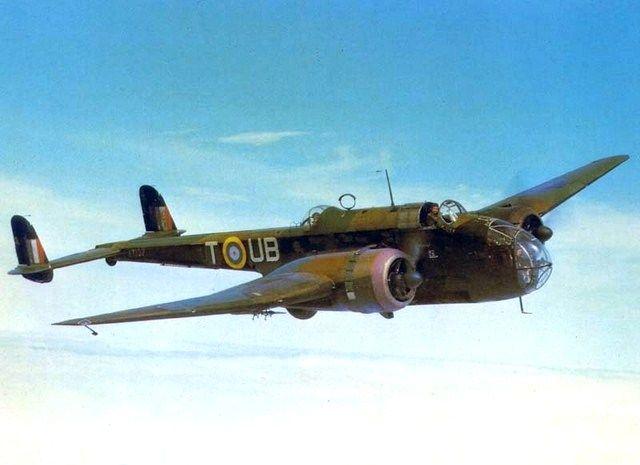 Handley Page Hampden Mk I - AT 137 'T-UB' - medium bomber -  No 455 Squadron, Royal Australian Air Force based at Leuchars, Fife, Scotland - May 1942