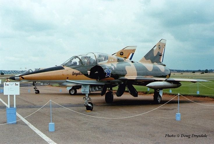 South African Air Force Mirage III DZ