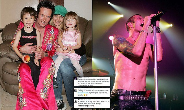 Scott Weiland of Stone Temple Pilots 'found dead on tour bus' aged 48
