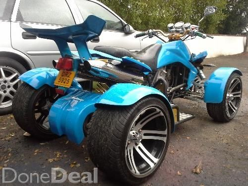 250 cc road legal quad For Sale in Donegal : €1,500 - DoneDeal.ie