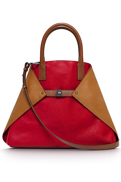#DesignerHandbagsLove #COM Akris - Cruise Bags - 2013. I would never spend this much on a handbag, but I still like the lines on this bag!