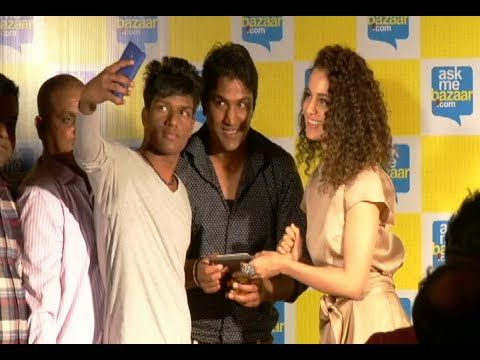 CHECKOUT Kangana Ranaut meets and greets the lucky winners of AskMeBazaar.com contest. See the video at : http://youtu.be/g5HKtyASubE #kanganaranaut #bollywoodnews