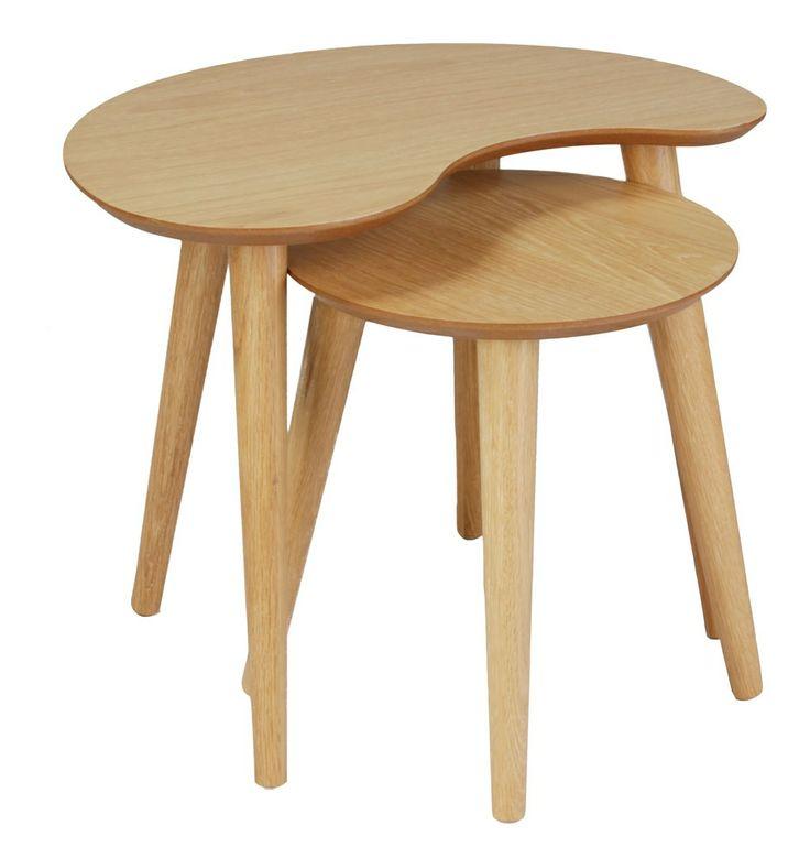 Stockholm Nest of 2 Tables - Matt Blatt