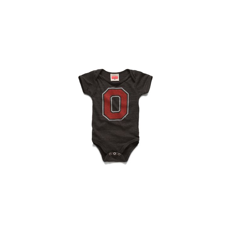 Block O Baby One Piece Ohio State University Baby Top – HOMAGE