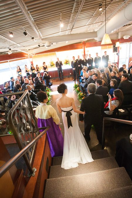 Inside Wedding Ceremony at The Canal | Photo Elan Photography