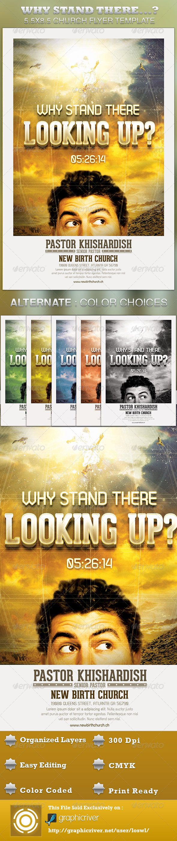 17 best images about print templates why stand there looking up church flyer template