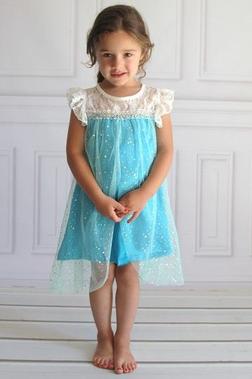 Elsa Everyday Tunic Dress (Baby, Toddler, & Little Girls) by Heart to Heart on @HauteLook  FROZEN!!!