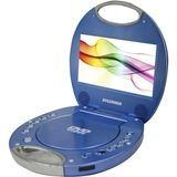 """Sylvania - 7"""" Portable DVD Player - Blue"""