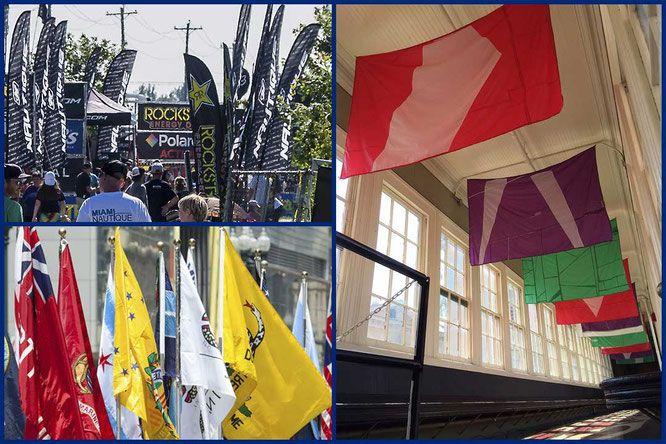 Banderas Publicitarias, ¿Qué modelos hay? ¿Cuánto duran en el exterior?