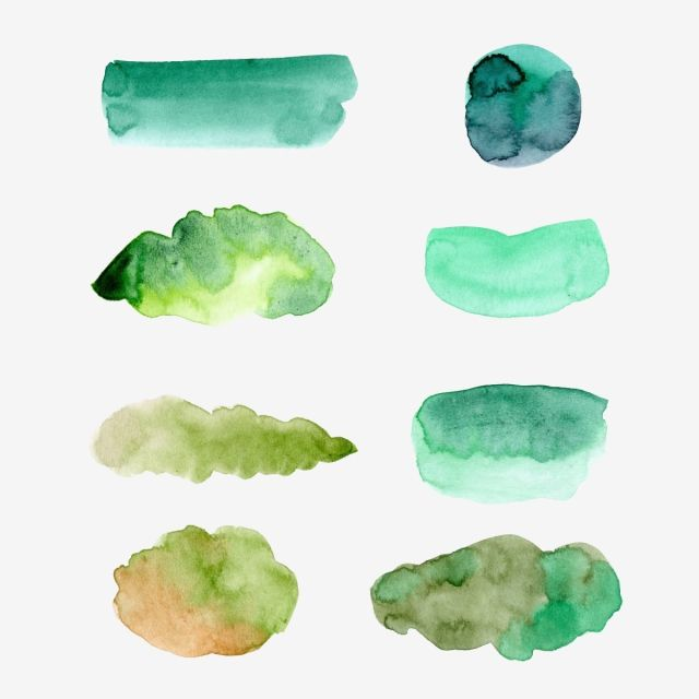 Watercolor Green Shape Background Vector And Png Watercolor Circles Watercolor Wreath Watercolor