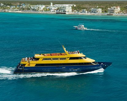This ferry ride was crazy.... Let's just say it was a windy ride to Cozumel Mexico. Feb 14 2013