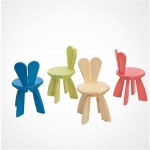Дизайнерский детский стульчик из серии ЗАЙКИНЫ УШКИ купить оптом недорого @ 7Гном