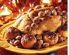 Photo de Chapon aux pommes et aux marrons