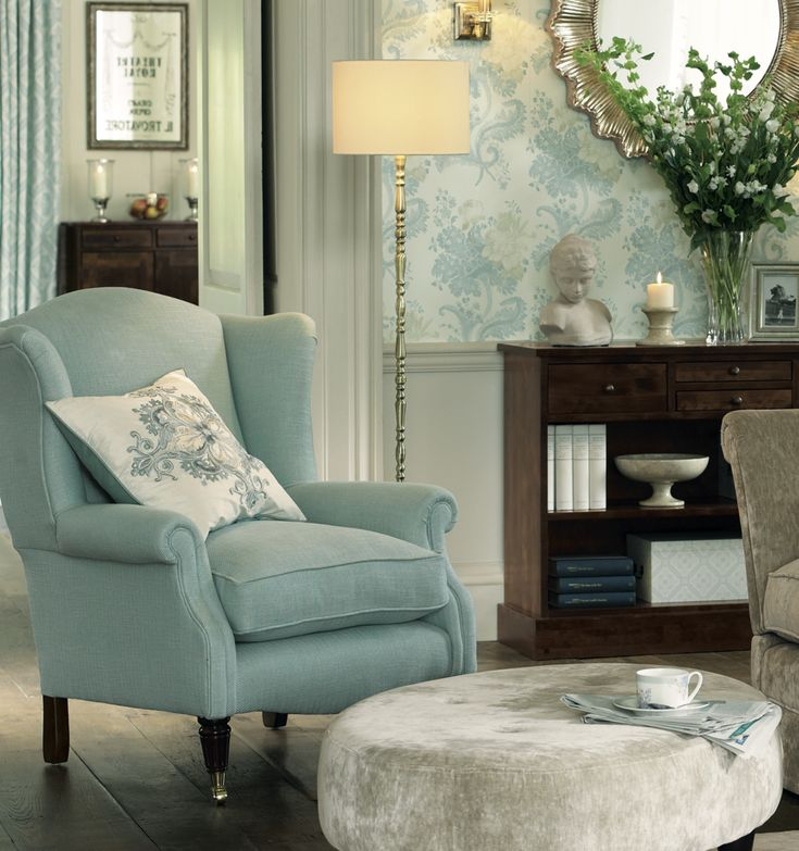 Beautiful Chair - perfect colour #LauraAshleySS14 In the hot seat! Laura Ashley 2014 Interiors Collection: Operetta