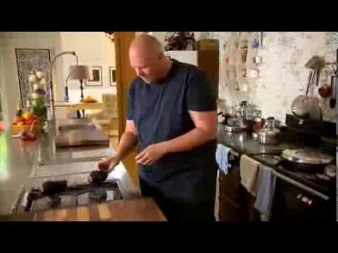 ▶ Tom Kerridge - Monkfish with Smoked Aubergine Purée - YouTube