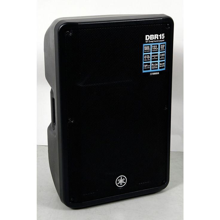 Yamaha DBR15 Powered Speaker Regular 888366031438