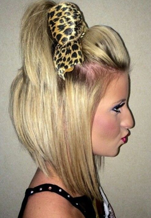Gorgeous Short Cheer Hair Cheer Hair Cheerleading