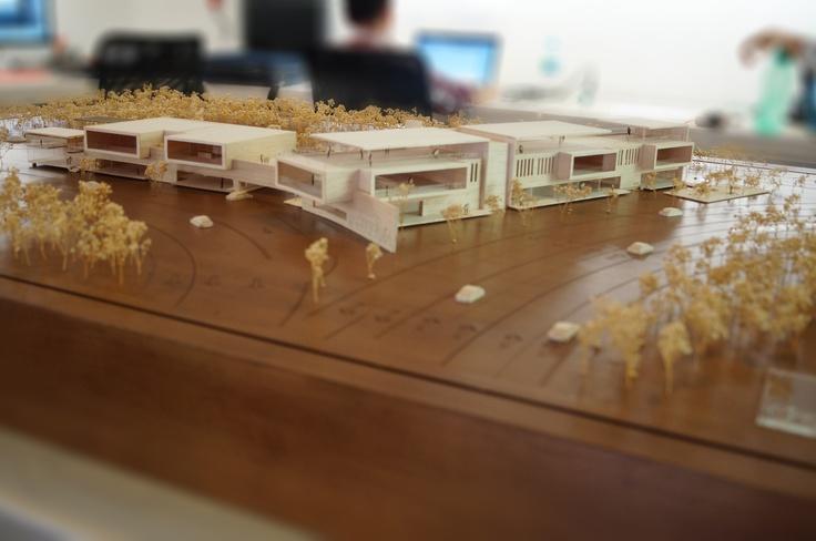 maqueta de ventas PLAZA INTERVIA, architectural model