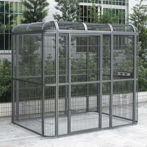 Walk-in Bird Aviary Cage Parrot Macaw Reptile Dog 79Hx86Wx62D Flight Cage #Flyline