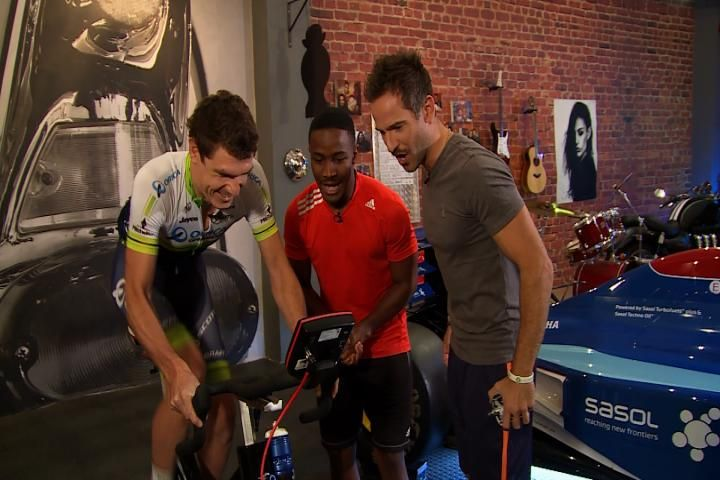South African cycling sensation, Darryl Impey, joins the boys in studio to chat about the Tour de France, doping in cycling and how it feels to wear the famous yellow jersey...