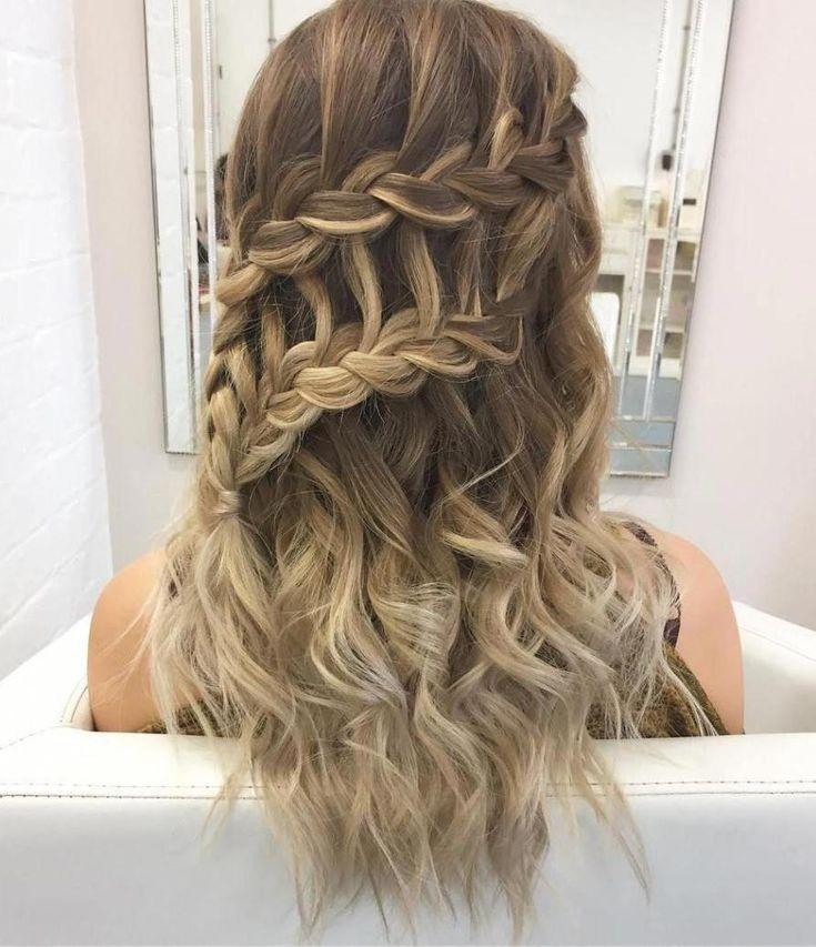 Stunning braided hair style