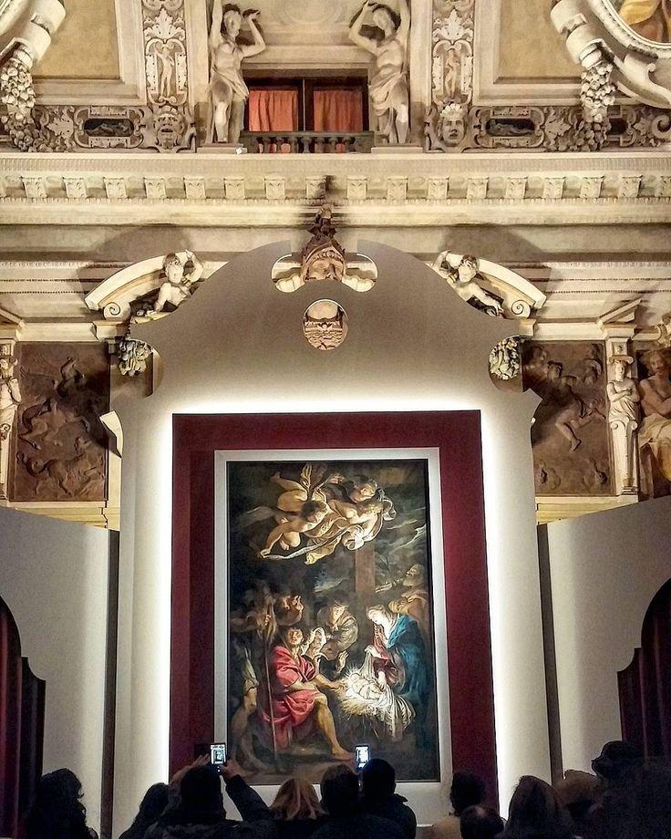 """Milano(Italy)-Palazzo Marino: """"Adorazione dei pastori """" di Rubens nella splendida Sala Alessi. by patryland13"""