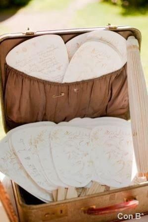 Pai pai en maletas para boda * http://conbdeboda.blogspot.com.es/