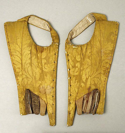 Textile piece Date: mid-18th century Culture: Italian Medium: silk