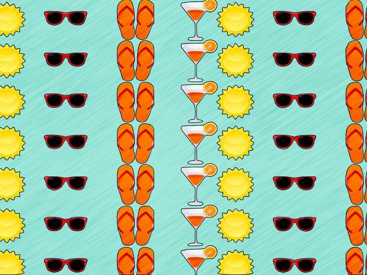 #summertime #print #cute #happy