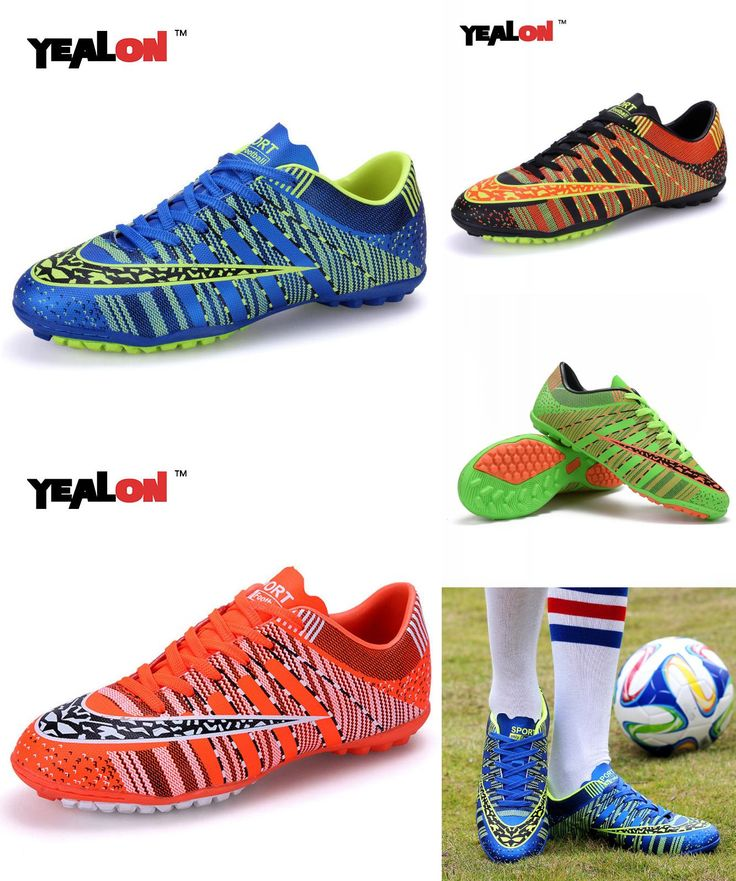 [Visit to Buy] YEALON Man Soccer Shoes Superfly Chaussures Homme Cheap Soccer Boot Cleats Indoor Soccer Shoes Superfly Football Boots Men Women #Advertisement