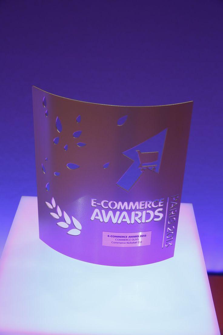 E-commerce Award 2013 remporté par le grand gagnant @CommerceGuys #ECP13 #Awards