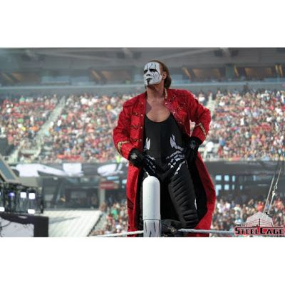 Distressed Jackets : Sting Wwe Superstar Leather Jacket For Sale
