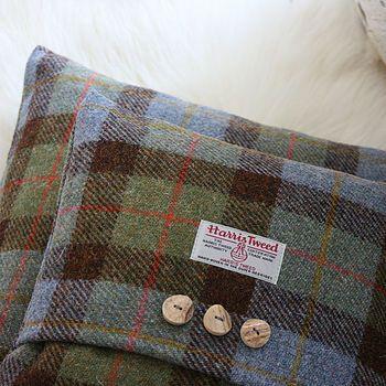 Macleod Harris Tweed Cushion