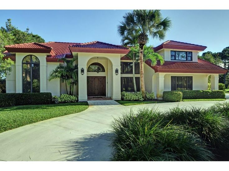 41 best vero beach golf course homes images on pinterest for House plans for golf course lots