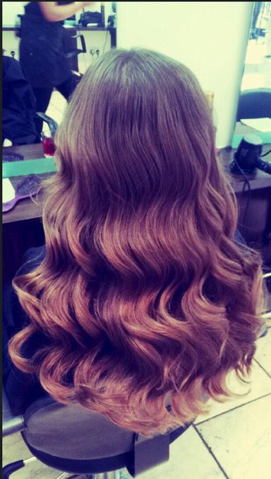 #waves #hair #hairbyme #balayage #colour