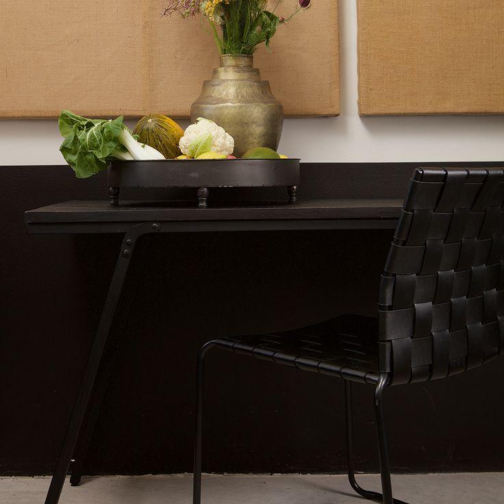 Tisch In Schwarz Teak Recyclingholz Jetzt Bestellen Unter: ...